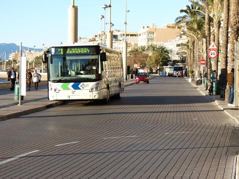 autobus playa de palma