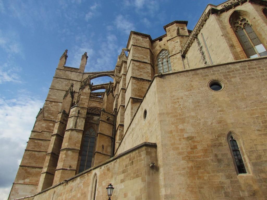 detalle catedral palma de mallorca